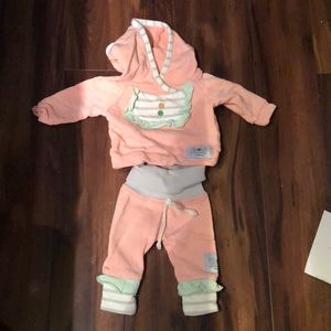 Purl lamb outfit